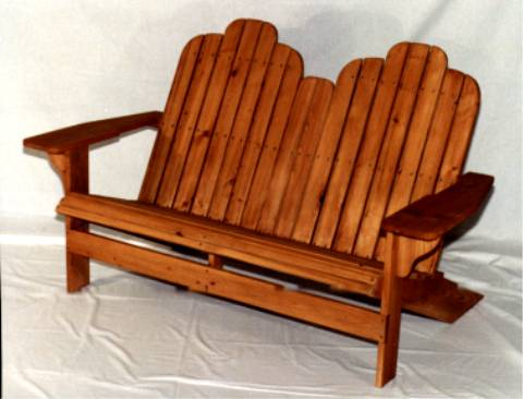 Adirondack Loveseat Plans Pdf Woodworking